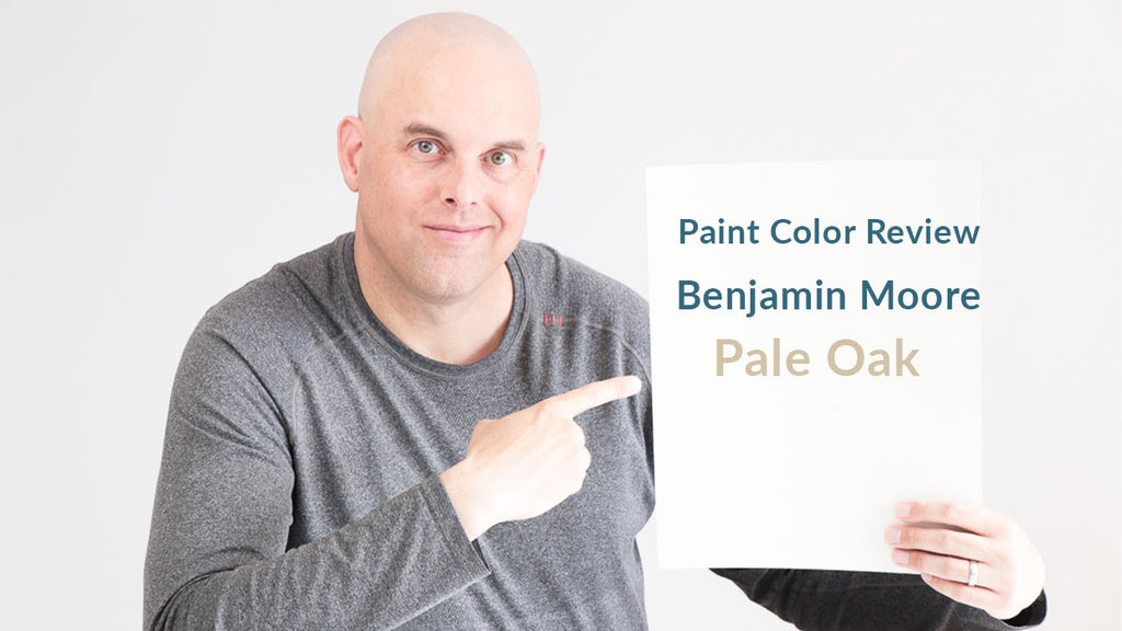 Benjamin Moore Pale Oak Color Review