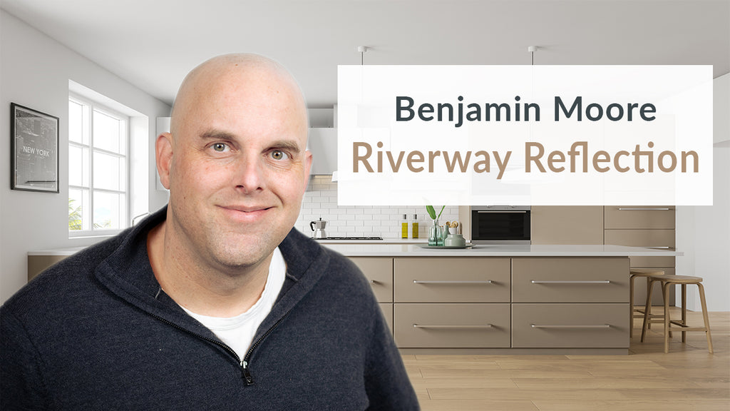 Benjamin Moore Riverway Reflection Color Review