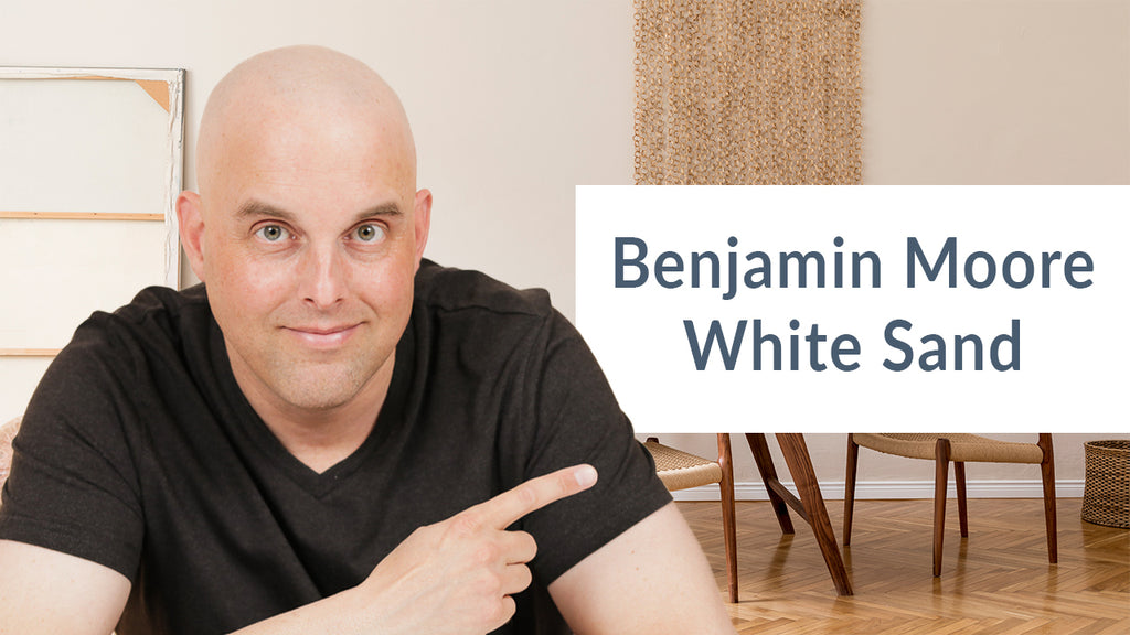 Benjamin Moore White Sand Color Review