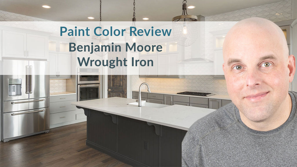 Benjamin Moore Wrought Iron Color Review
