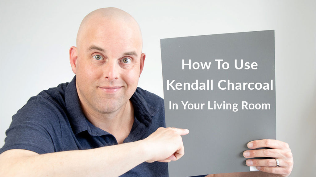 How To Use Benjamin Moore Kendall Charcoal In Your Living Room