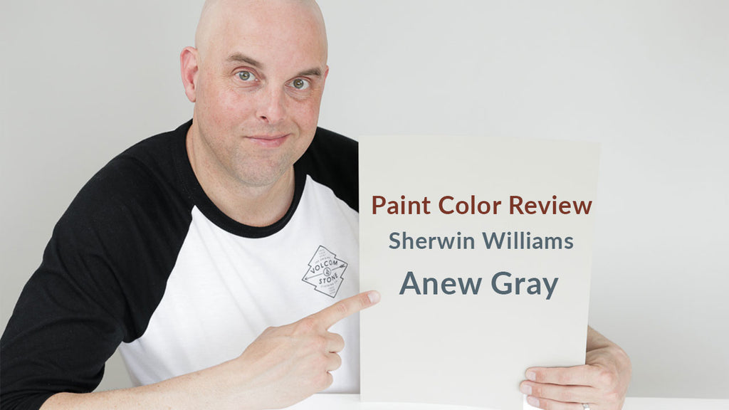 Sherwin Williams Anew Gray Color Review