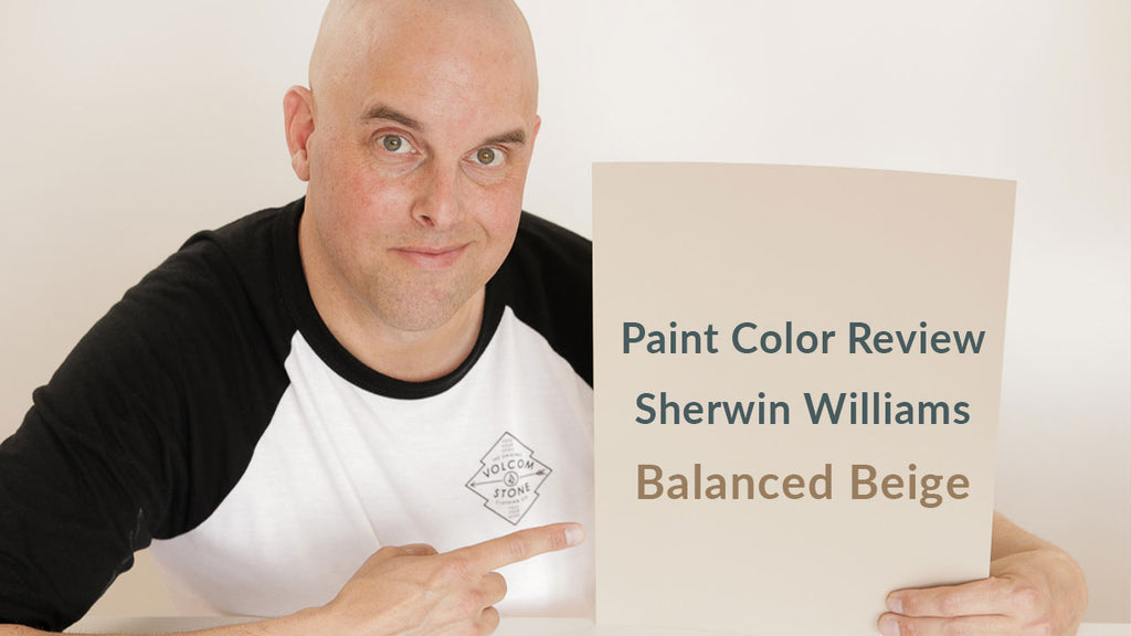 Sherwin Williams Balanced Beige Color Review