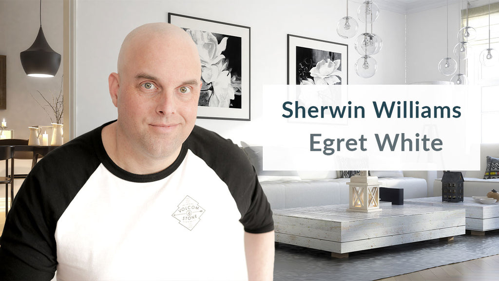 Sherwin Williams Egret White Color Review