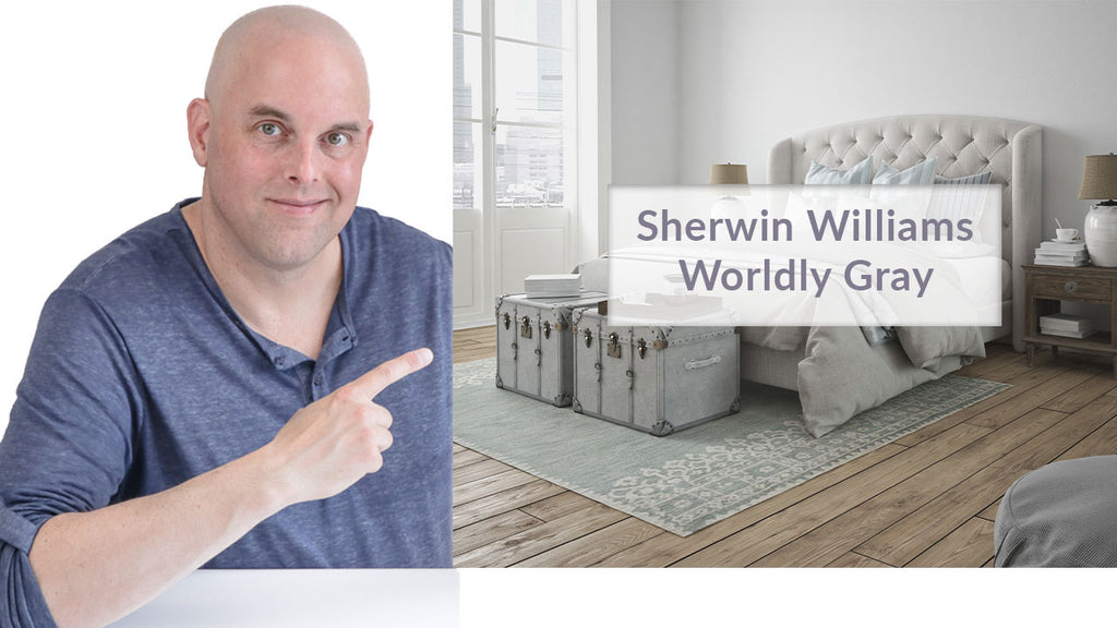 Sherwin Williams Worldly Gray Color Review