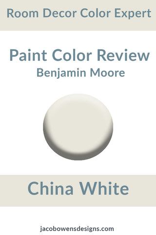 Benjamin Moore China White Color Review