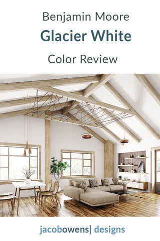 Benjamin Moore Glacier White Color Review