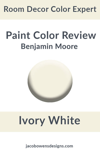 Benjamin Moore Ivory White Color Review