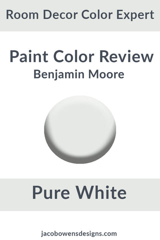 Benjamin Moore Pure White Color Review