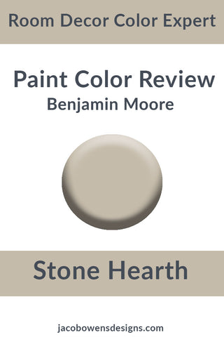 Benjamin Moore Stone Hearth Color Review