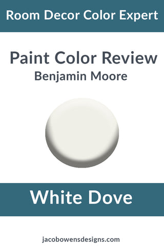 Benjamin Moore White Dove Color Review