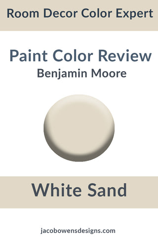Benjamin Moore White Sand Color Review Pinterest