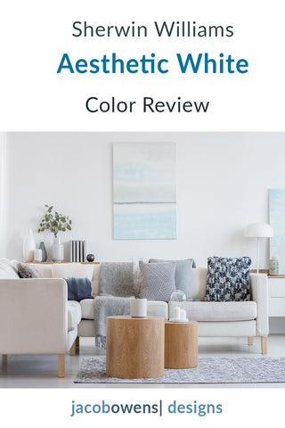 Sherwin Williams Aesthetic White Color Review