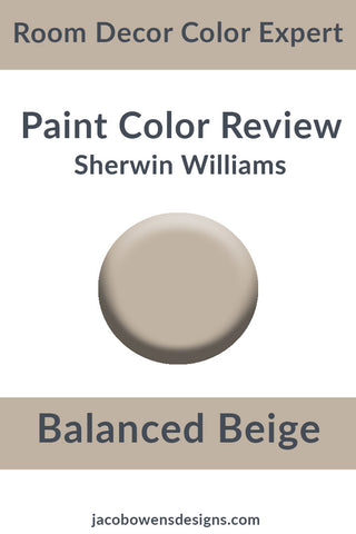 Sherwin Williams Balanced Beige Paint Color Review