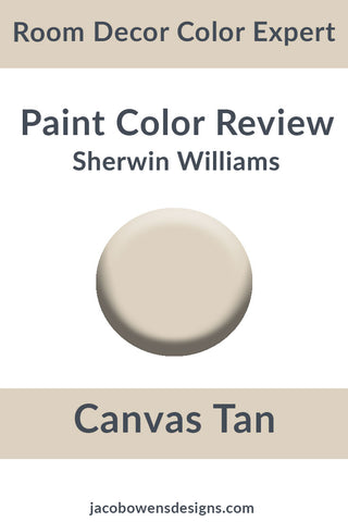 Sherwin Williams Canvas Tan Color Review Paint Sample