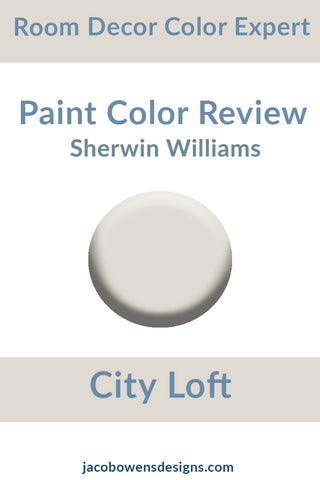 Sherwin Williams City Loft Paint Color