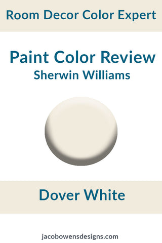 Sherwin WIlliams Dover White Color Review