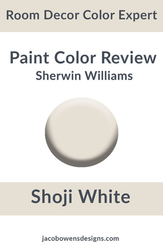 Sherwins Williams Shoji White Color Review Paint Sample