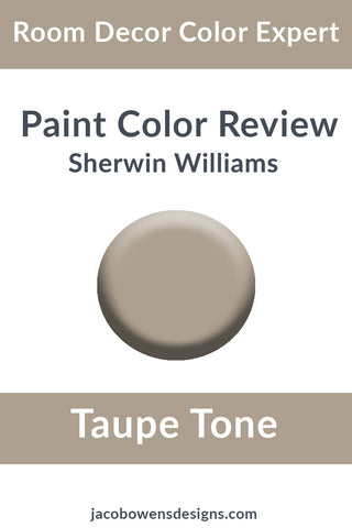 Sherwin Williams Taupe Tone Color Review
