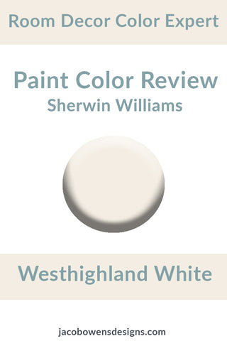 Sherwin Williams Westhighland Color Review Sample Paint