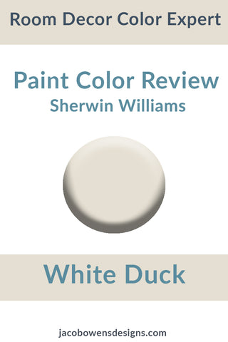 Sherwin Williams White Duck Color Review