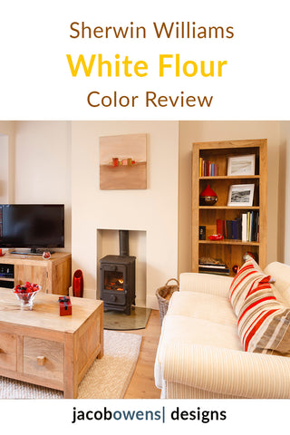 Sherwin Williams White Flour Color Review