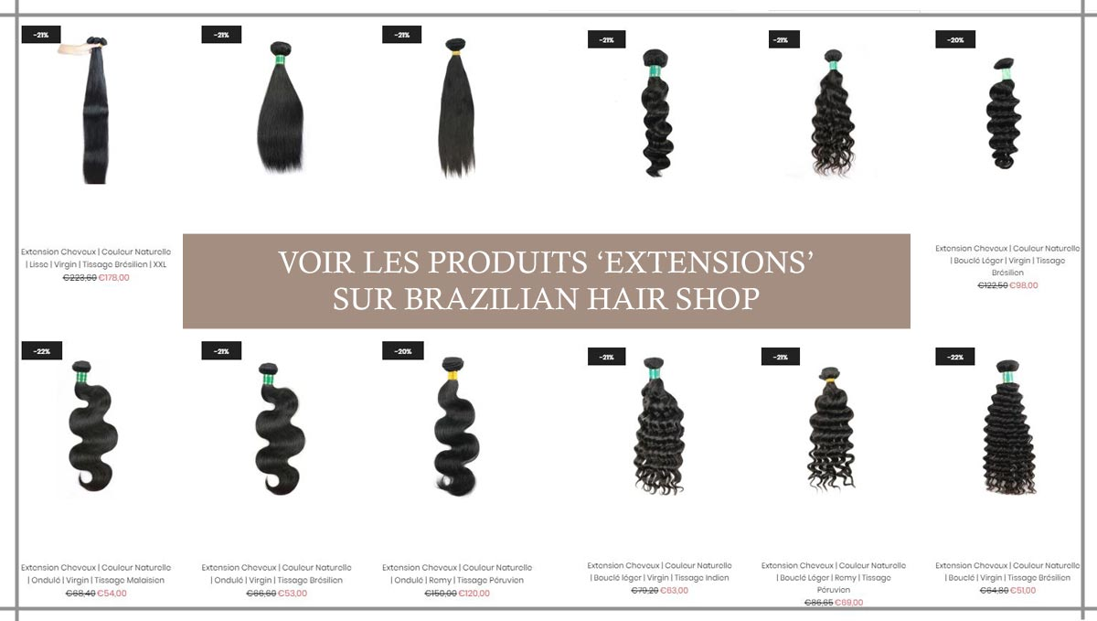 Tissage Extensions Cheveux