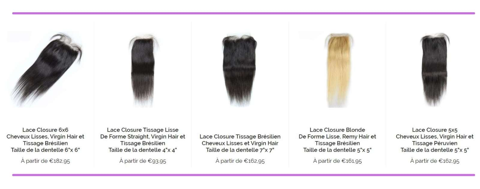 collection closure lisse