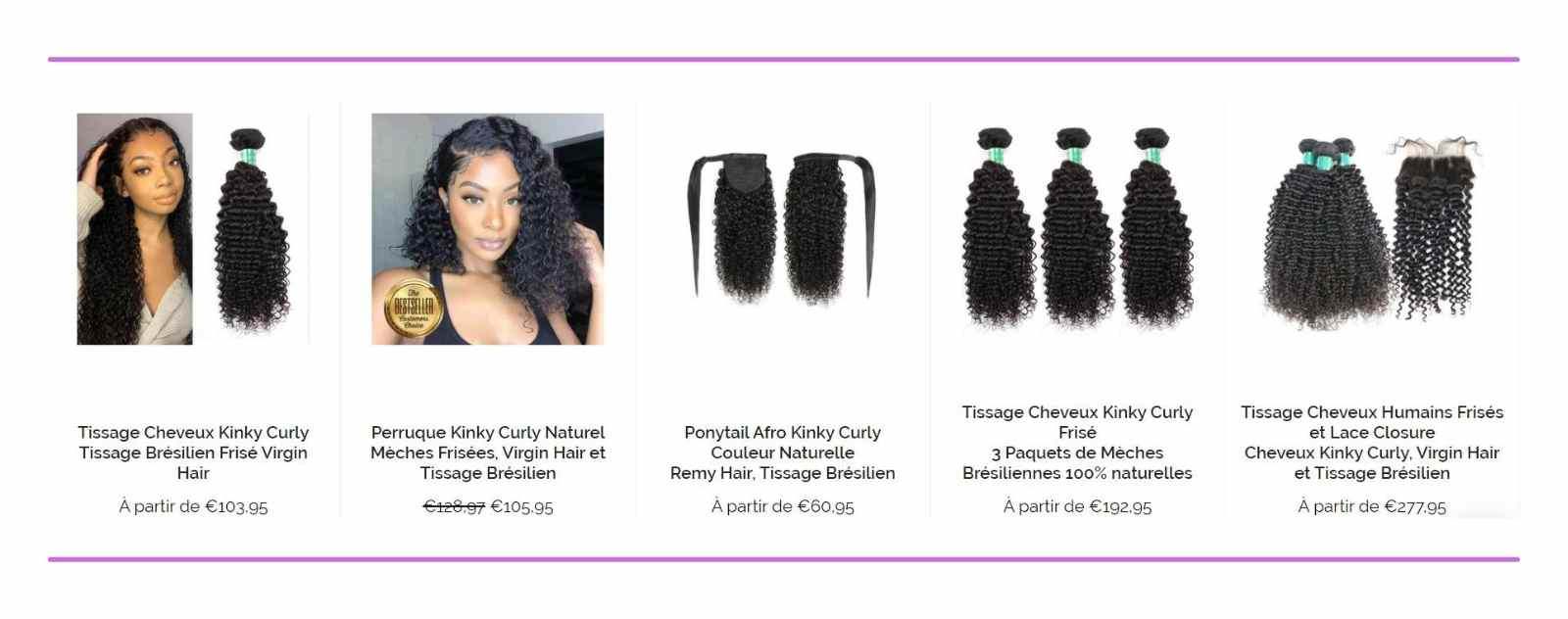 collection kinky curly
