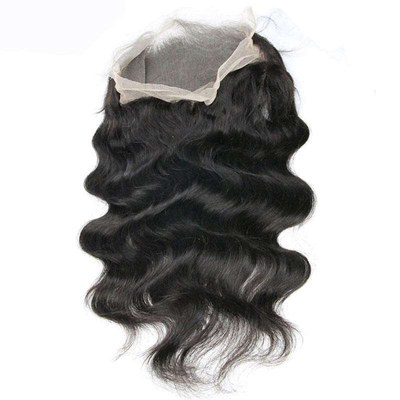 Lace Frontal 360 | Couleur Naturelle | Ondulé | Virgin | Tissage Brésilien