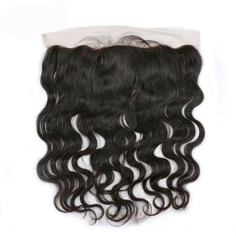 Lace Frontal 13x4 | Couleur Naturelle | Ondulé | Virgin  | Tissage Brésilien