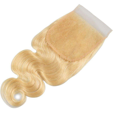 Lace Closure Blonde <br> 5x5 | Remy | Brésilien <br> 20 à 50 cm