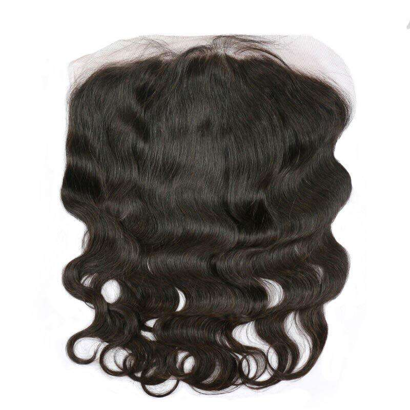 Lace Frontal 13x6 | Couleur Naturelle | Ondulé | Virgin | Tissage Brésilien