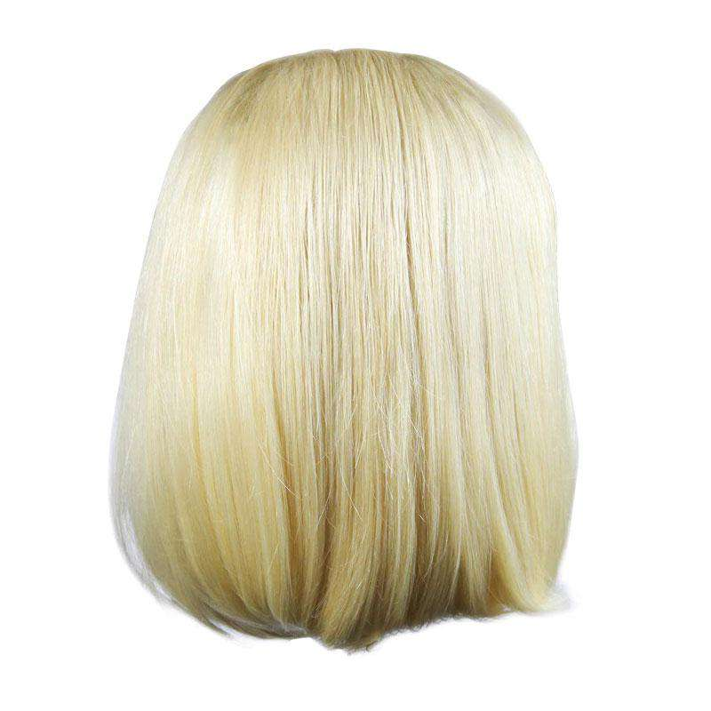 Perruque | Lace Frontal<br>Couleur Blonde | Lisse | Virgin<br>Tissage Brésilien