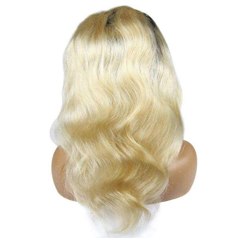 Perruque Blonde Racine Noire | Brazilian Hair Shop