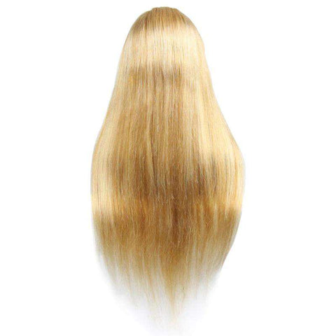 Perruque | Lace Closure<br>Couleur Blonde #60 | Lisse | <br>Virgin | Tissage Brésilien