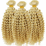 Tissage Blond Deep Wave 3 Paquets