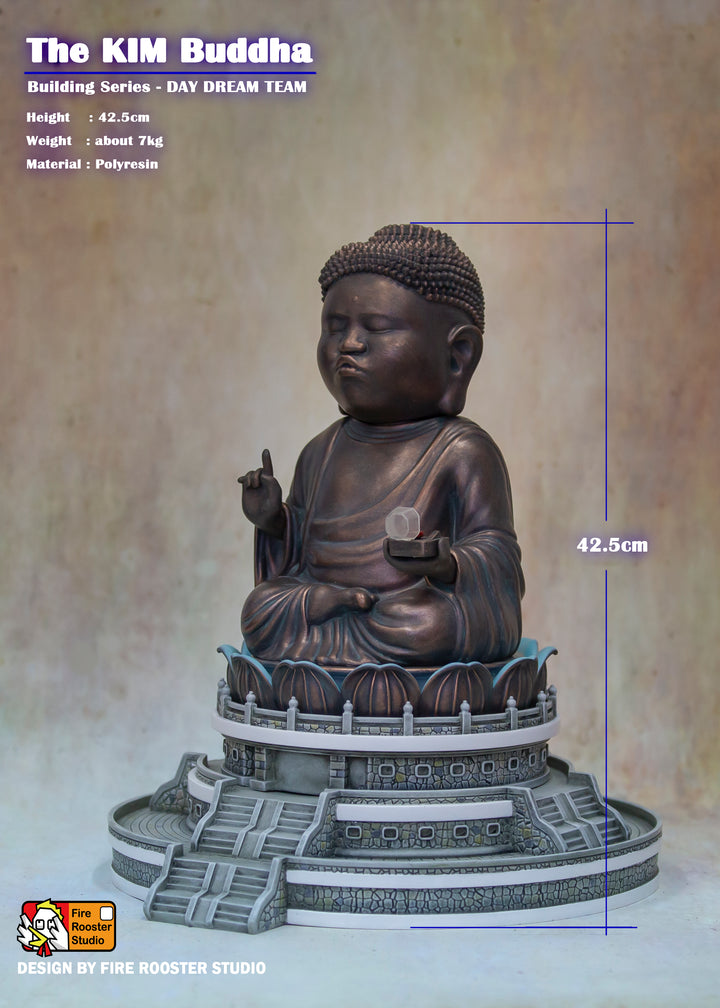 3. Kim Statue of Tian Tan Buddha (Limited Edition 100pcs)