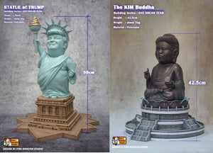1. Kim & Trump's Statue Combo (Limited Edition 100pcs)