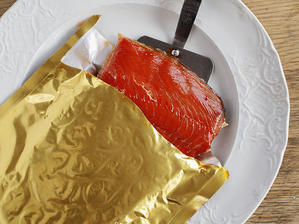 copper river smoked sockeye salmon 8 oz fillet chinook company. Black Bedroom Furniture Sets. Home Design Ideas