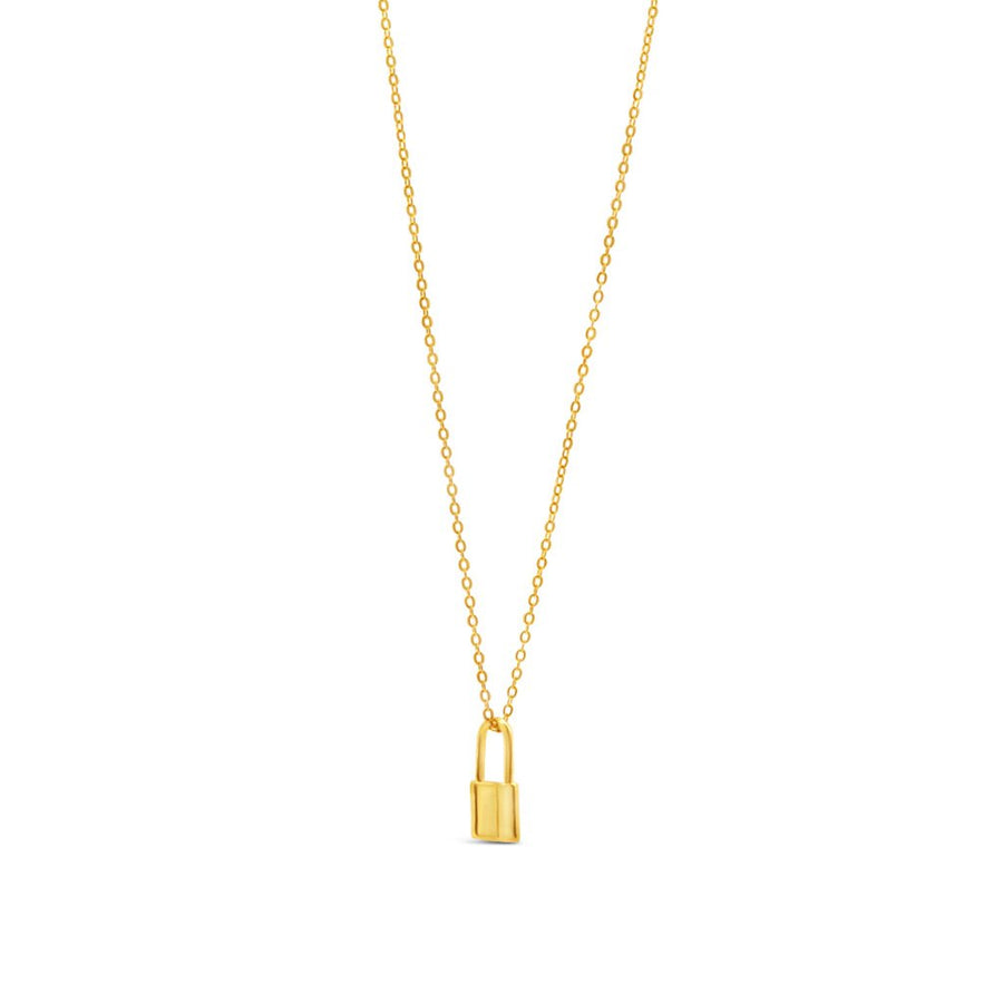 Padlock Chain Necklace - Dainty & Co. Jewelry