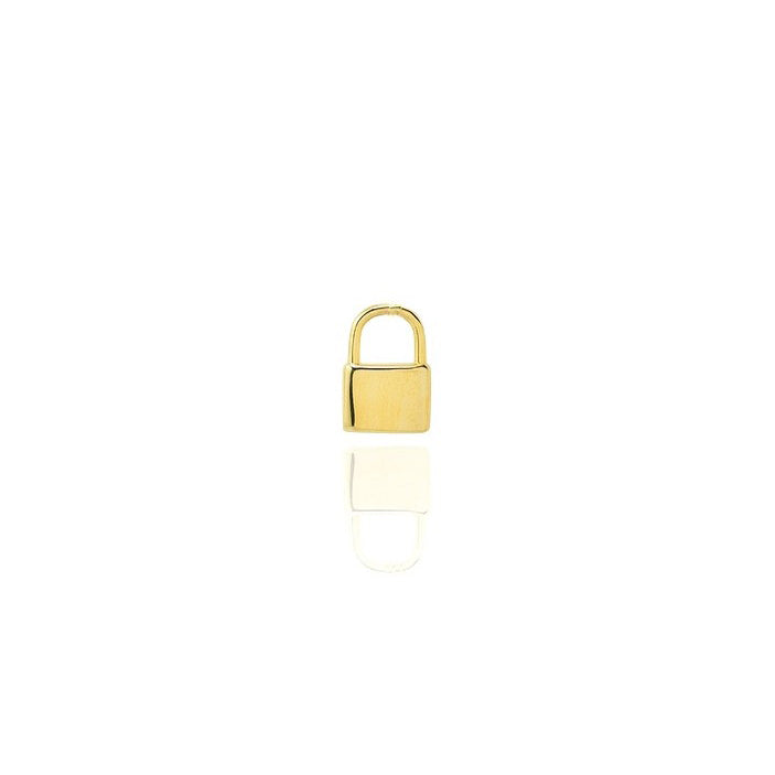 Mini Padlock Pendant - Dainty & Co. Jewelry