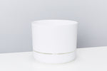 White Selfwatering Pots 215mm