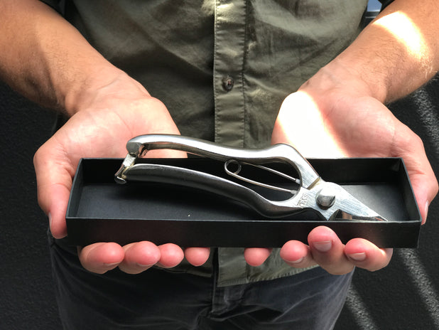 SYU Secateurs Silver