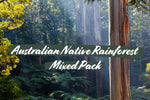Australian Native Rainforest Mixed Pack