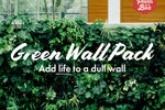 Green Wall Pack - Indoors