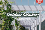 Assorted Pack of Outdoor Climbers
