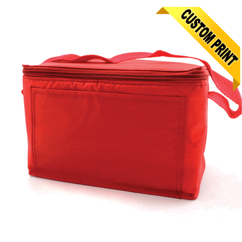 Mayday Red Vinyl Cooler Bag with Handle