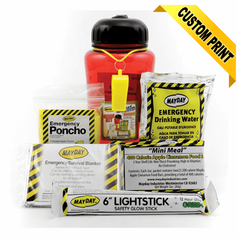 Mayday Industries Bottle Buddy Survival Kit - Pack Of 4