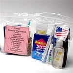 MayDay Industries 13 Piece Women's Personal Hygiene Kit- Pack of 8